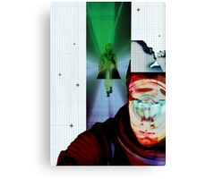 Space Odyssey Montage Canvas Print