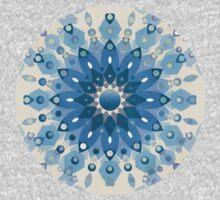 Frozen Mandala Flower One Piece - Long Sleeve
