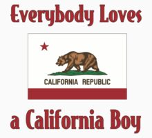 Everybody Loves a California Boy One Piece - Long Sleeve
