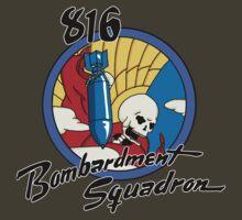 816th Bomb Squadron Insignia by nplant