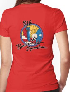 816th Bomb Squadron Insignia Womens Fitted T-Shirt