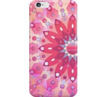 Tropical Pink Floral Mandala iPhone Case/Skin