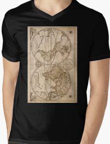 Old Maps Mens V-Neck T-Shirt