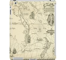 Old Maps iPad Case/Skin