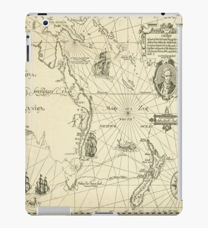 Old Maps iPad Case/Skin