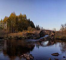 Roman Brig on the River Minnoch by derekbeattie