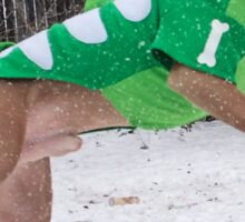 Snow Dinosaur Sticker