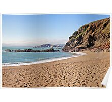 South Devon Beach Poster