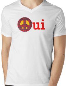 Scottish Independence Anti Trident T-Shirt Mens V-Neck T-Shirt