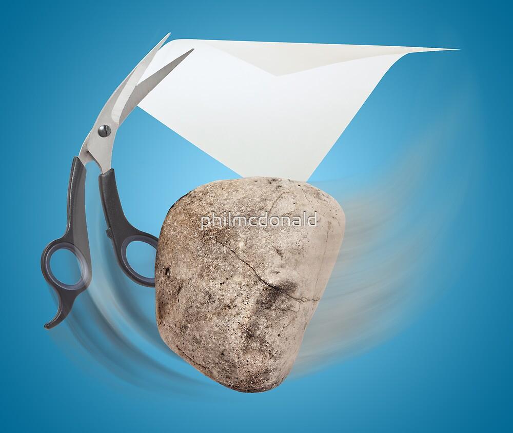 Rock, Paper, Scissors by philmcdonald