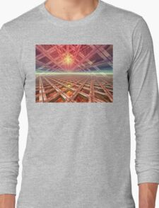 Space Portal To The Stars Long Sleeve T-Shirt