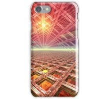 Space Portal To The Stars iPhone Case/Skin