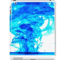 Blue ink iPad Case/Skin