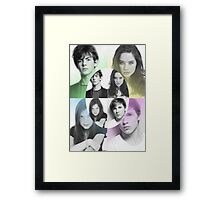 The Kings and Queens of Narnia Poster Framed Print