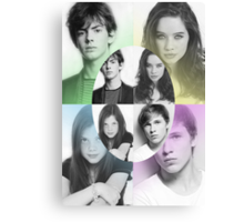 The Kings and Queens of Narnia Poster Canvas Print