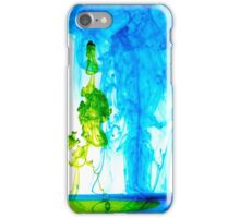 Green inks iPhone Case/Skin