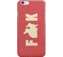 F**k iPhone Case/Skin