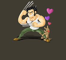 Wolverine in love Unisex T-Shirt