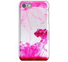 Pink ink iPhone Case/Skin
