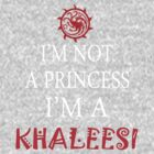I'm not a princess, I'm a Khaleesi by incetelso