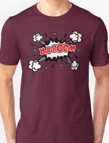 COMIC KA-BOOM, Speech Bubble, Comic Book Explosion, Cartoon T-Shirt