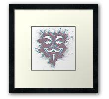 Guy Fawkes' Vision Framed Print