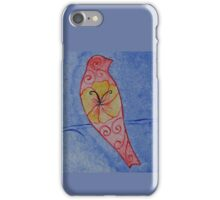 Blue Song Bird iPhone Case/Skin