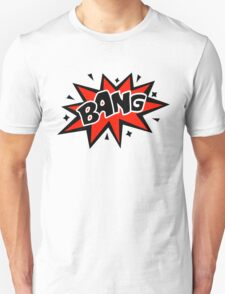 COMIC BANG! Speech Bubble, Comic Book Explosion, Cartoon T-Shirt