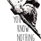 """You know nothing, Jon Snow."" *Ygritte version* by anemophile"