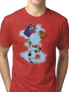 Doctor Who Tardis Ride Tri-blend T-Shirt