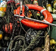 Bayfront Buoys by Thom Zehrfeld