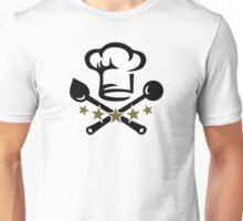Chef Cook Hat, Cooking, Kitchen, Hotel, Restaurant Unisex T-Shirt