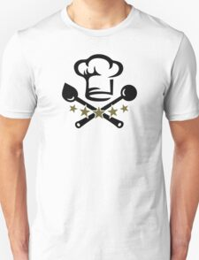 Chef Cook Hat, Cooking, Kitchen, Hotel, Restaurant T-Shirt
