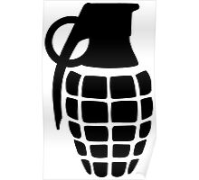 Hand Grenade Poster