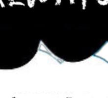 """""""always?, always"""" casket tfios inspired shirt Sticker"""