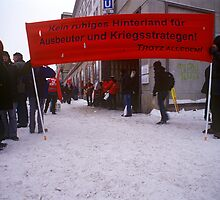 Luxemburg-Liebknecht Demo, Berlin 2010 by Michel Meijer