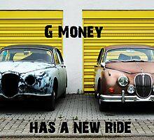 G Money has a new ride. by bbarlett