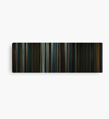 Moviebarcode: The Hobbit: The Desolation of Smaug (2013) Canvas Print