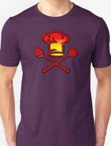 Chef Cook, Hat, Cooking, Kitchen, Hotel, Restaurant Unisex T-Shirt