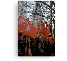 Luxemburg-Liebknecht Demo, Berlin 2014 Canvas Print