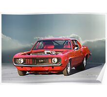 1969 Camaro 'Turbo' Z/28 Poster