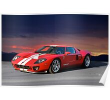 2001 Ford GT Poster