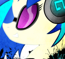 DJ Pon-3 Spray Sticker