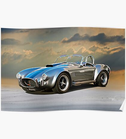 1966 Shelby 'Coiled' Cobra Poster