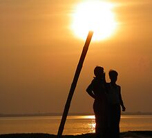 Sun Down by Saptarshi Majumdar