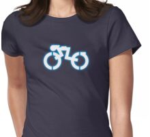 Grid Cyclists Only Womens Fitted T-Shirt