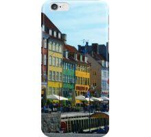 Nyhavn - Copenaghen iPhone Case/Skin