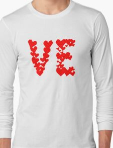 LOVE Couple, Heart, I Love You, Pair, Valentine` Day Long Sleeve T-Shirt