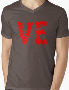 LOVE Couple, Heart, I Love You, Pair, Valentine` Day Mens V-Neck T-Shirt