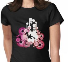 Hot Dance2 Womens Fitted T-Shirt